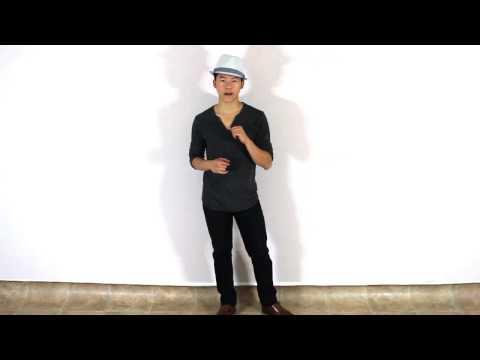 Basic Dance Steps for Guys | Super Easy Beginner Dance Steps for Men