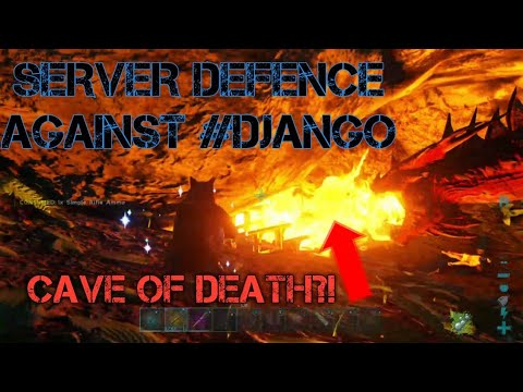 SERVER DEFENCE AGAINST #DJANGO! (The Mafia) - ark survival evolved pvp official