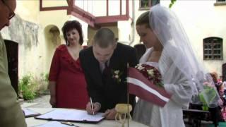 Kāzu video: Agnese un Imants (video: Ieva Kreicberga; mūzika: Instrumenti - Zemeslodes)