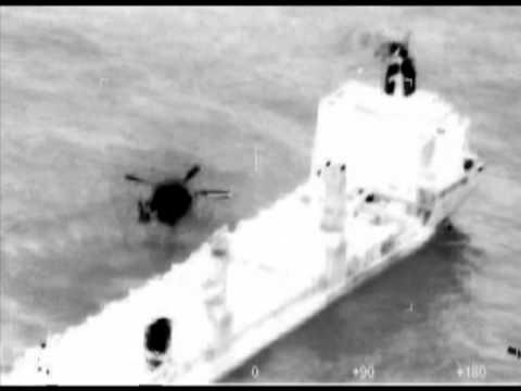 Coast Guard Medevacs Injured Man Off Ship, Nov 19 2013