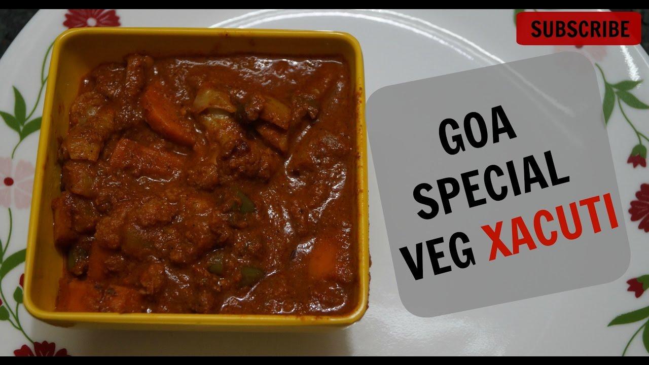 How to make goan vegetable xacuti recipetried tasted youtube how to make goan vegetable xacuti recipetried tasted forumfinder Choice Image