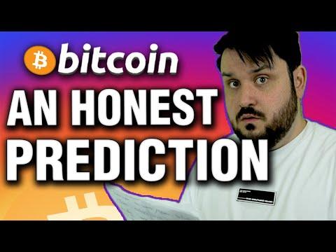 An Actually Honest Bitcoin Price Prediction