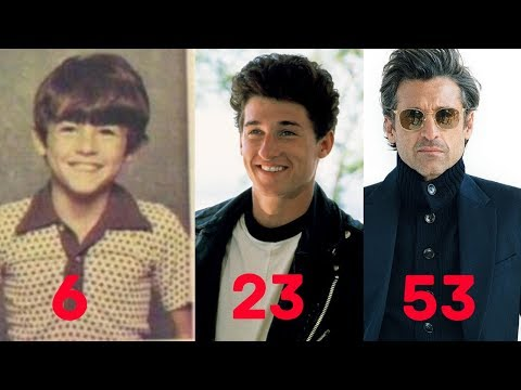 Patrick Dempsey Transformation 2019 From 6 To 53 Year Old Youtube