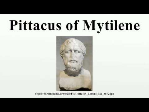Pittacus of Mytilene