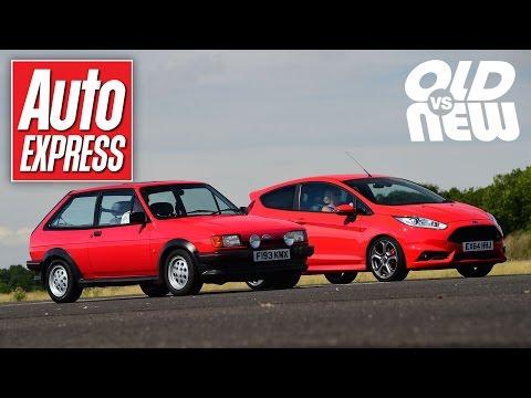 Ford Fiesta XR2 vs Ford Fiesta ST - Old vs new drag race challenge