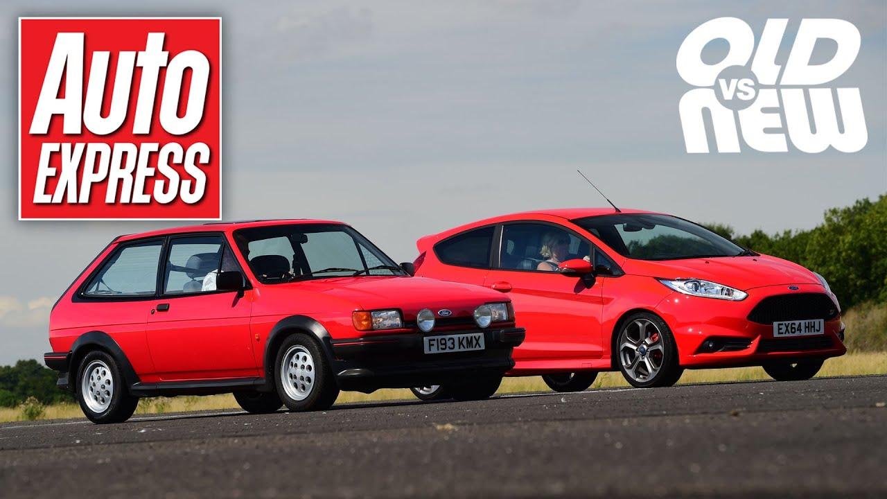 Ford Fiesta XR2 vs Ford Fiesta ST - Old vs new drag race challenge ...
