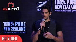 Question & Answer Session | Sidharth Malthotra | New Zealand Tourism Campaign