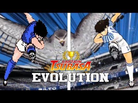 CAPTAIN TSUBASA GAMES - EVOLUTION (1988-2017) - EVOLUCIÓN HD: Captain tsubasa o Super Campeones evolución de sus juegos desde el año 1988 (Captain Tsubasa - Famicom) Hasta el año 2017 (Captain tsubasa: Dream Team)  Captain Tsubasa Games Evolution from 1988 (Captain Tsubasa - Famicom) to 2017 (Captain tsubasa: Dream Team).   Lista de Juegos / List of Games:  01 Captain Tsubasa 02 Captain Tsubasa 2 Super Striker 03 Captain Tsubasa 3 Kotei no Chosen 04 Tecmo Cup Soccer Game 05 Captain Tsubasa VS 06 Tecmo Cup Football Game 07 Captain Tsubasa 4 Pro no Rival Tachi 08 Captain Tsubasa 5 Hasha no Shogo Campione 09 Captain Tsubasa (MCD) 10 Captain Tsubasa J Zenkoku Seiha Heno Chosen 11 Captain Tsubasa J The Way to World Youth 12 Captain Tsubasa J Get in the Tomorrow 13 Captain Tsubasa Aratanaru Densetsu Josho 14 Captain Tsubasa Eiko no Kiseki 15 Captain Tsubasa Ogon Sedai no Chosen 16 Captain tsubasa 17 Captain Tsubasa Gekito no Kiseki 18 Captain Tsubasa: Dream Team  Gracias Por Ver / Thanks for Watching :).