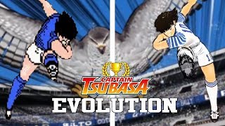 CAPTAIN TSUBASA GAMES - EVOLUTION (1988-2017) - EVOLUCIÓN HD