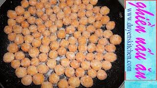 Làm Bánh Nhãn Mà Không Có Nhãn (Bánh Bi, Bánh Cà) By Duyen's Kitchen | Ghiền Nấu Ăn