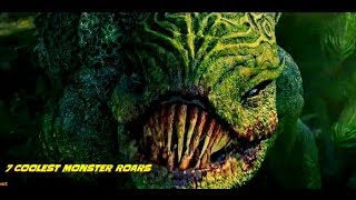 Top 7 Coolest Monster Roar (Scenes)