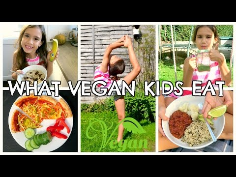 WHAT VEGAN KIDS EAT IN A DAY | 8YR OLD