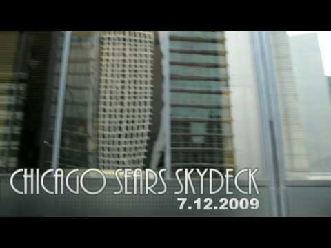 7.12.2009 Sears ( Willis ) Tower Skydeck , Glass Balcony ...