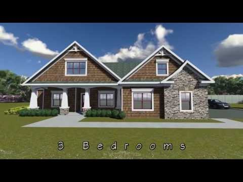 CRAFTSMAN HOUSE PLAN 009-00072