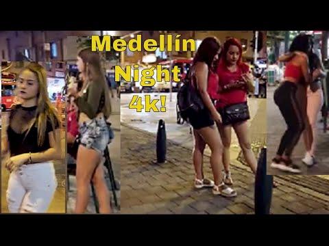 night-tour-in-downtown-medellin-colombia-plaza-botero-parque-berrio-4k
