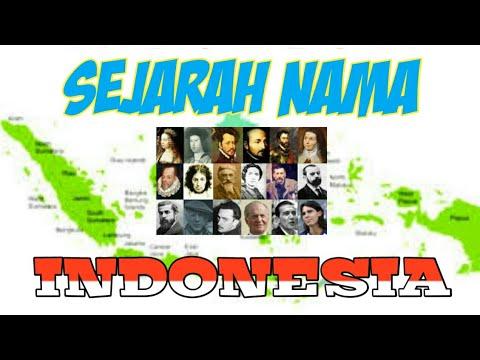Sejarah nama Indonesia ( Radio Komedi )
