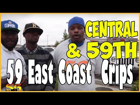 59th Street East Coast Crips on Central Avenue where Florence 13 are
