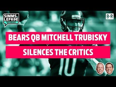 Bears QB Mitchell Trubisky Silences Critics in Win vs. Lions   NFL Week 10 Recap