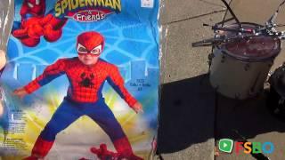 Spiderman Halloween Costume - Garage Sale - Live & Virtual Grand_Rapids,
