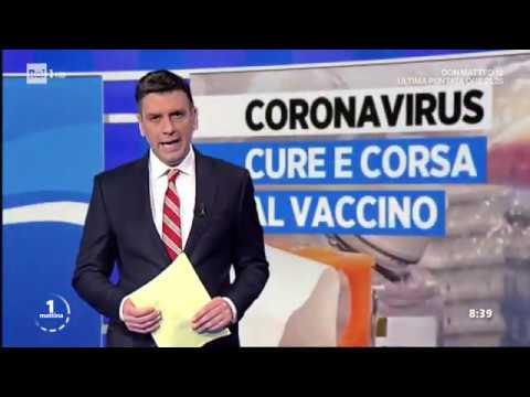 Coronavirus: cure e vaccino - Unomattina 19/03/2020