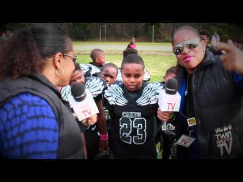TwinSportsTV: QB38 #2 Benjamin (Central Virginia Hurricanes 8U Football)