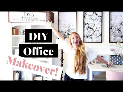 Office Makeover on a Budget | How to Decorate on a Budget