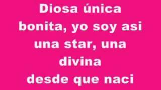 Il Mondo di Patty _ Diosa Unica Bonita (Karaoke)