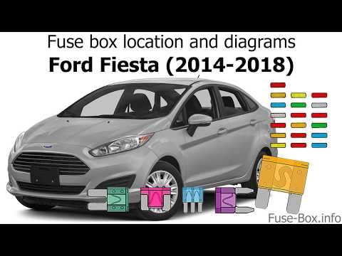 fuse box location and diagrams ford fiesta (2014 2018 2012 ford focus radio wiring diagram how to ford focus stereo wiring diagram