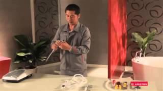 Hướng dẫn lắp đặt & sử dụng máy nước nóng trực tiếp Ariston