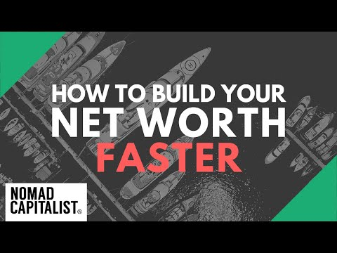 How to Build Your Net Worth Faster