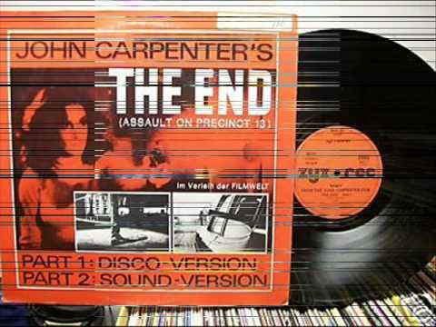 JOHN CARPENTER - THE END