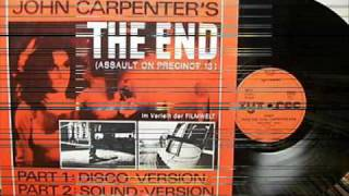 JOHN CARPENTER - THE END