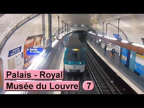 m 233 tro de palais royal mus 233 e du louvre ligne 7 ratp mf77