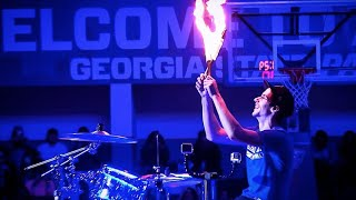 Fire Drumming Halftime Show! - Drum Cover Mashup