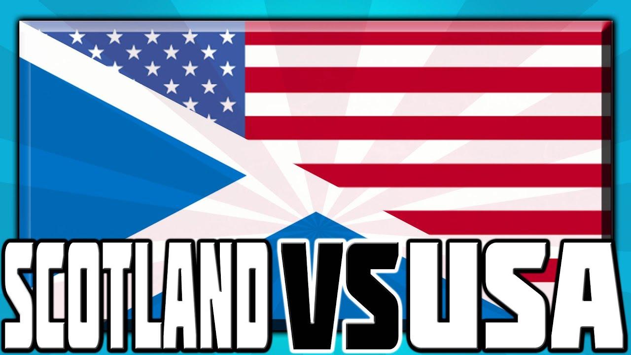 SCOTLAND VS USA! - YouTube