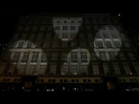 Saks 2011 Holiday 3D Light Show Travel Video
