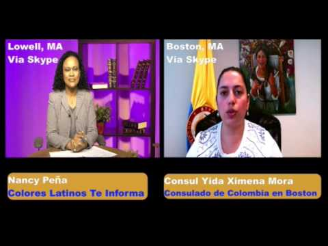 Colores Latinos Te Informa: Consul Mora explica sobre Nuevo Pasaporte Colombiano