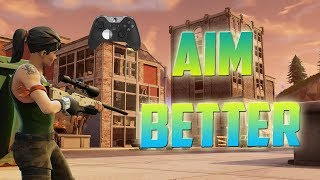 AIM 10x Better in Fortnite using this Trick... (Elite Controllers)