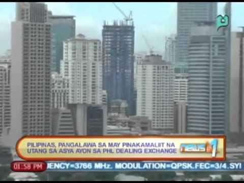 PHL Dealing Exchange: Pilipinas, pangalawa sa may pinakamaliit na utang sa Asya [5/15/14]