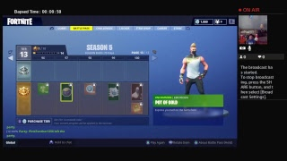 Thatsrich81's Live PS4 Broadcast Fortnite