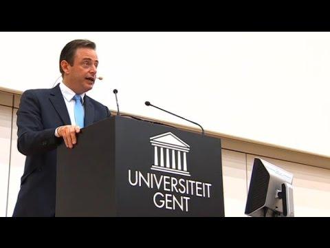 22/09/15 Bart De Wever over de vluchtelingencrisis @Ugent