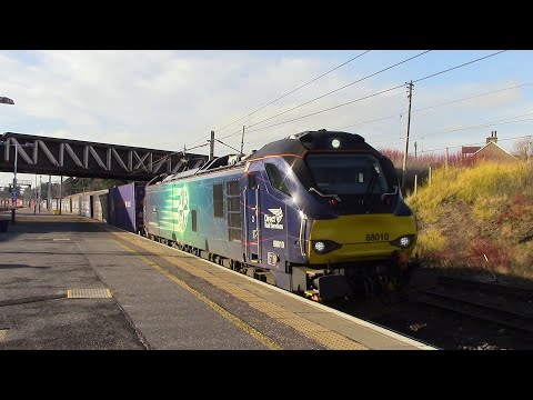 Intermodal Rail Freight at various locations in Scotland