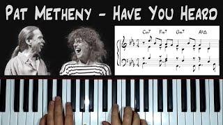 *Have You Heard* (Pat Metheny) - piąno arrangement