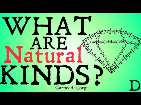 What are Natural Kinds? (Philosophical Definition)