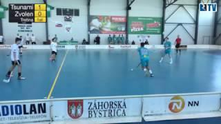 26. 3. 2017 JEX baráž Tsunami Záhorská Bystrica - ŠK 1. FBC Zvolen