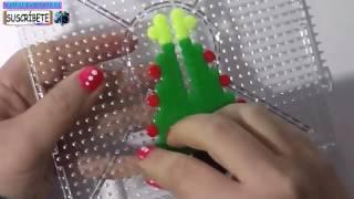 3 manualidades faciles de navidad para vender regalar hama beads como hacer decoraciones de navidad