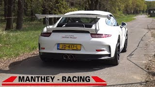 Manthey Racing Porsche 991 GT3 RS - Lovely Exhaust Sounds!