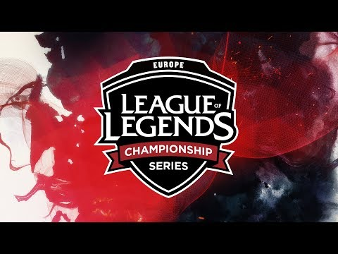 (REBROADCAST) EU LCS Spring (2018) | Week 9 Day 1