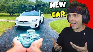 i bought a 2019 tesla model x with 12,000,000 vbucks... (amazing)