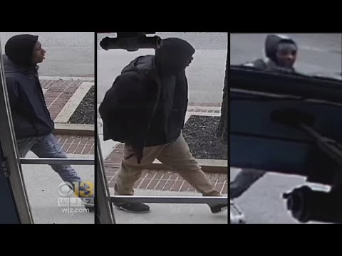 4 Suspects Sought In Fells Point Robberies